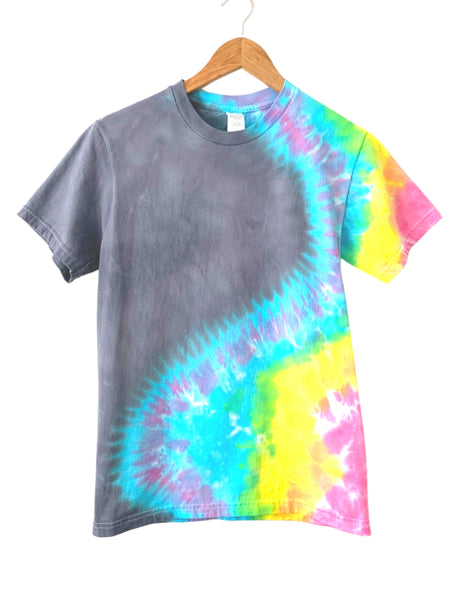 Rainbow Swish Tie Dye T Shirt