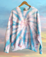 Cotton Candy Skies Tie Dye Sweatshirt
