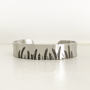 Wheat Field Bracelet Cuff