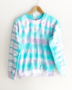 "Mermaid Tie Dye Sweatshirt ""Size Men's S"""