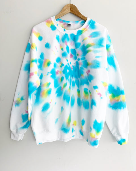 Happy Day Tie Dye Sweatshirt