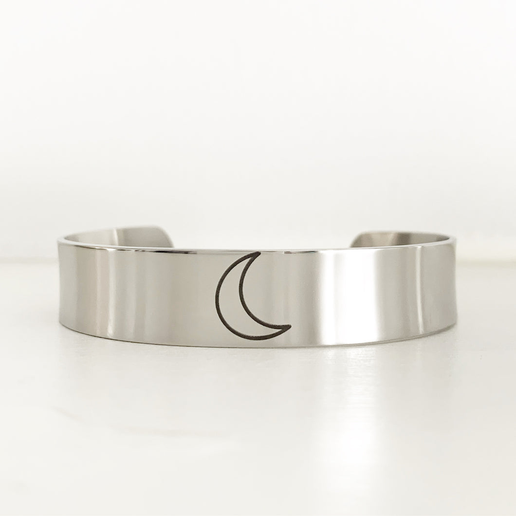 Crescent Moon Bracelet Jewelry