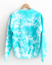 "Load image into Gallery viewer, Turquoise Waters Tie Dye Sweatshirt ""Size Men's M"""