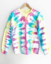 "Load image into Gallery viewer, Festival Tie Dye Sweatshirt ""Size Men's S"""