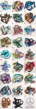 Load image into Gallery viewer, Ocean Waves Silk Wrap Bracelet WC23