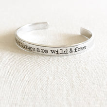 Load image into Gallery viewer, Wild & Free Bracelet Cuff