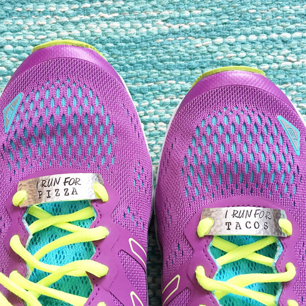Running Mates Shoe Tags™ I RUN FOR