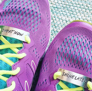 Running Mates Shoe Tags™ Keep Going No Excuses