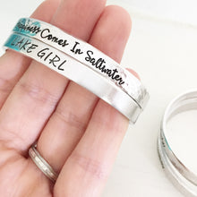 "Load image into Gallery viewer, Design Your Own 1/4"" Aluminum Cuff"