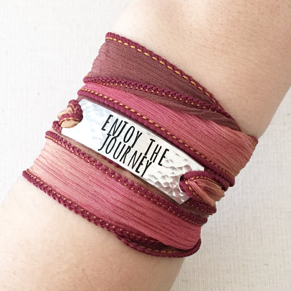 Enjoy The Journey Boho Wrap Bracelet