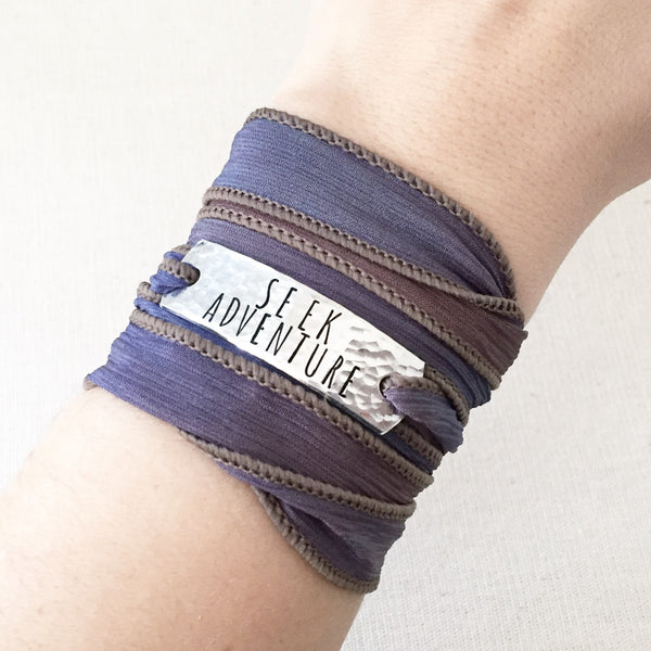 Seek Adventure Boho Wrap Bracelet