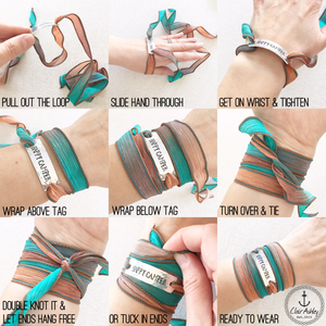 Bicycle Diffuser Wrap Bracelet EO7