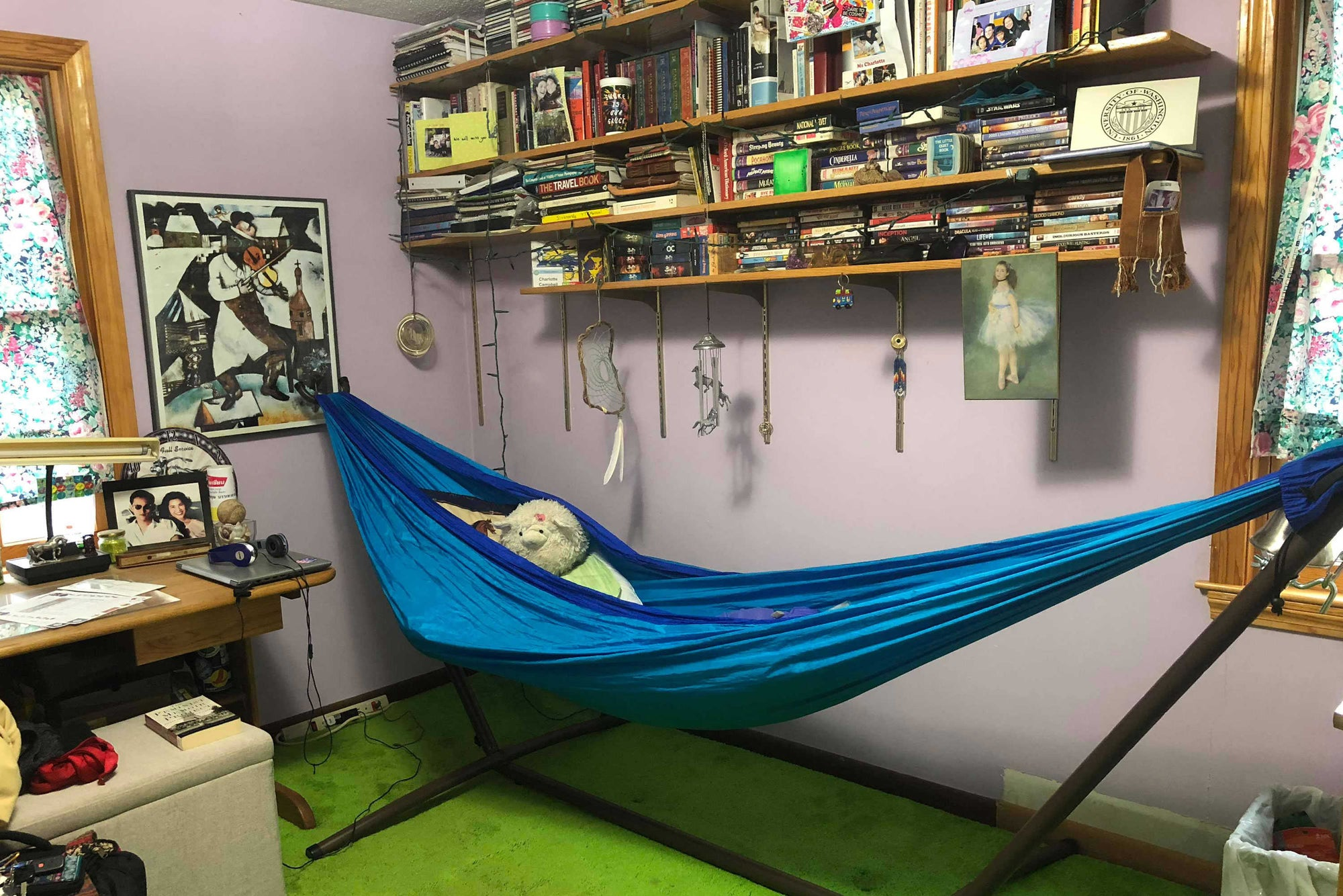 Could you sleep in a hammock every night? Some swear by it