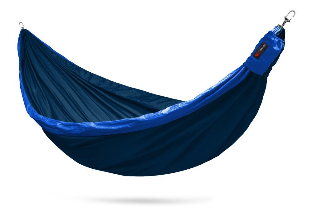 Double 2 person camping hammock with straps.