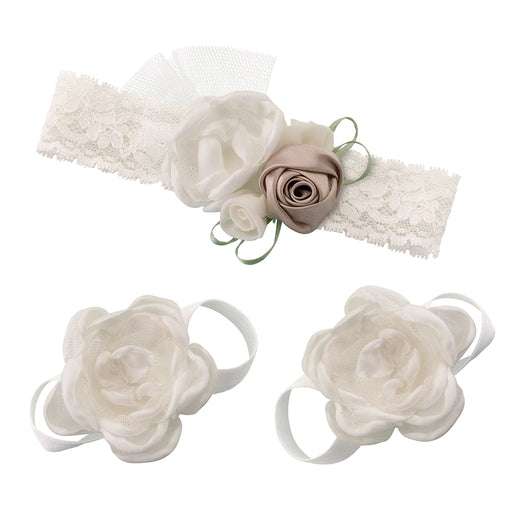 72a4f1bc19e749 ... Lillian Rose Ivory Baby Headband and Barefoot Sandals free delivery  bcb79 2034e  Lillian Rose Pink ...