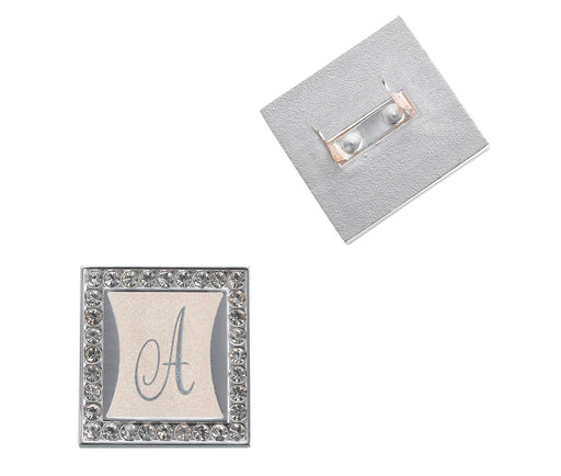 65d5b8dc997d Monogram - Letter Clips with Rhinestone Frame — 'A Friend's Touch ...