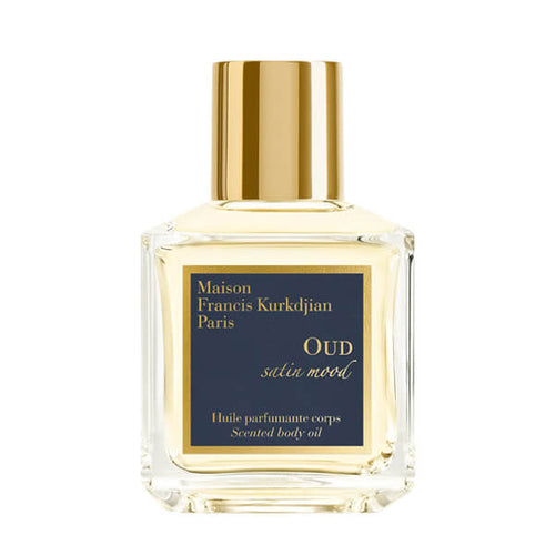 OUD satin mood scented body oil