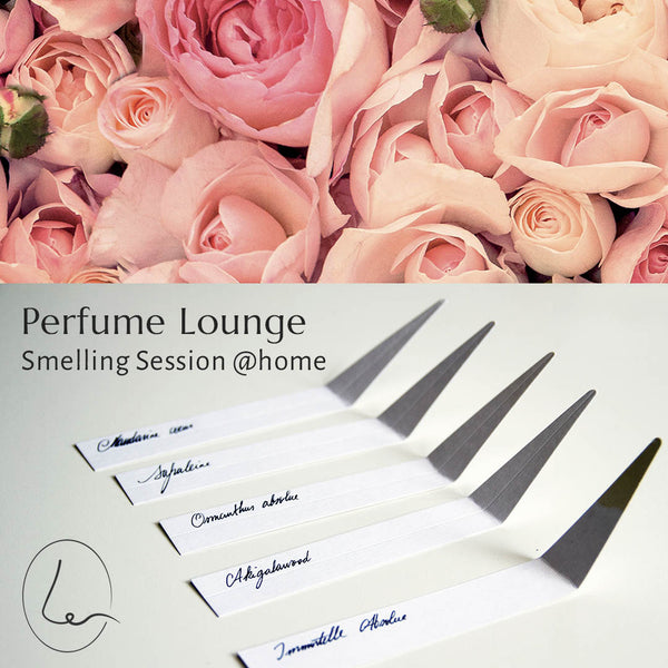 22 april Smelling Session @home - De roos in parfums