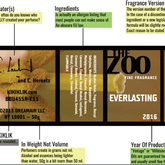 Everlasting-eau de parfum-THE ZOO-50 ml-Perfume Lounge