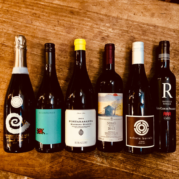 Super natural weekender - six naturally delicious wines