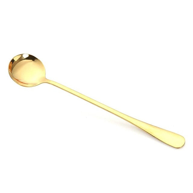 Long Handled Coffee Tea Dessert Spoons