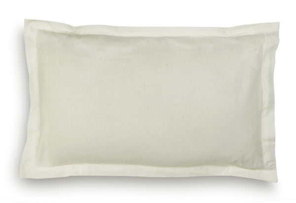 'Off-White' Organic Baby Pillow Cover