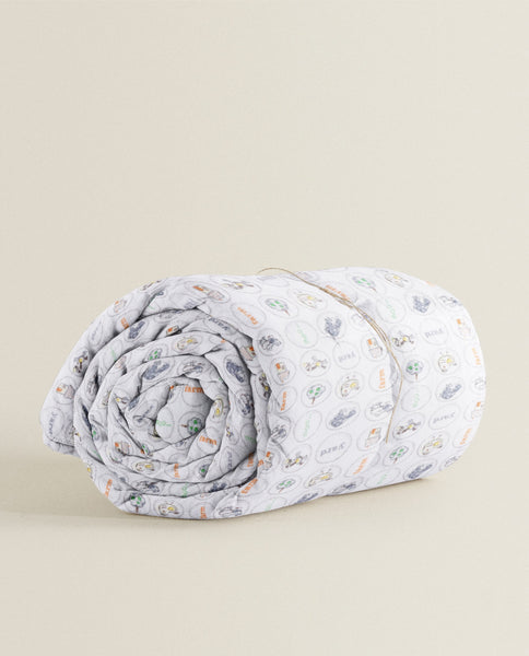 'Farm Print' Organic Junior Blanket