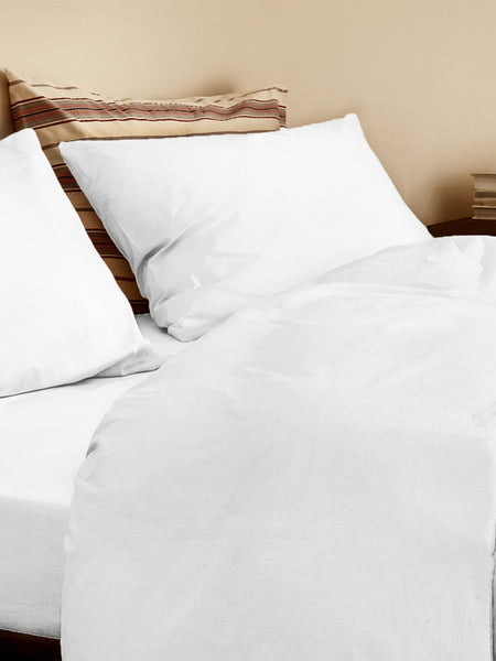 'Off White' Organic Duvet Cover