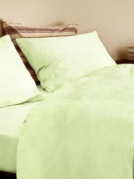 'Lime Green' Organic Duvet Cover