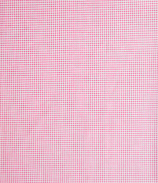 'Pink Checks' Organic Baby Pillow Cover