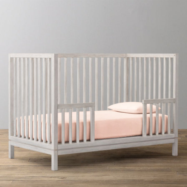 'Light Pink' Organic Fitted Crib Sheet