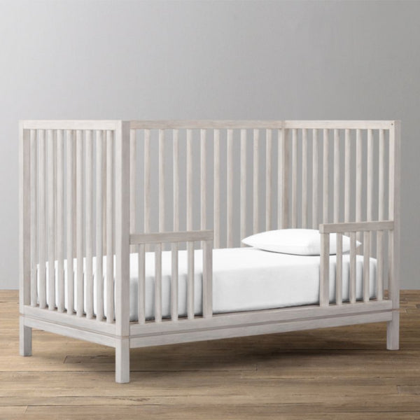 'Off White' Organic Fitted Crib Sheet