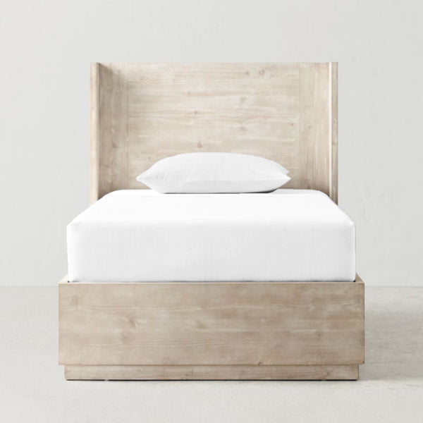 'Off White' Organic Single Fitted Sheet