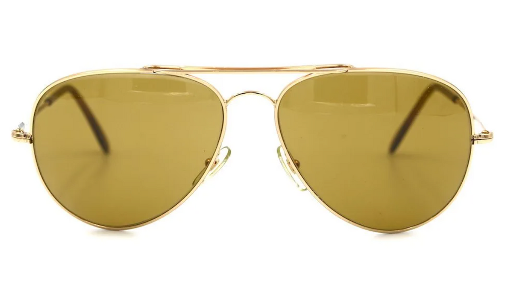 L'AMY Adam Vintage Sunglasses at Retro Spectacle. 1970's Style Aviator