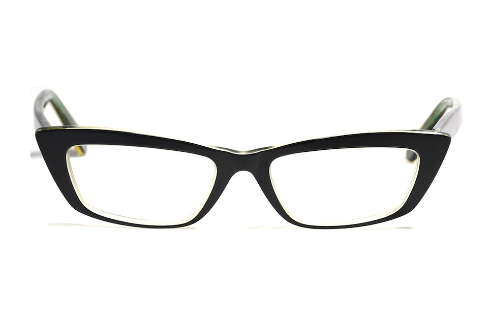 Kitty Black cat eye vintage inspired spectacles
