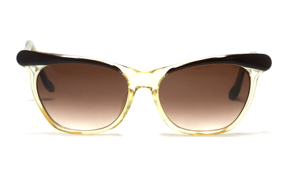 Justine 1960's bespoke cat eye vintage sunglasses