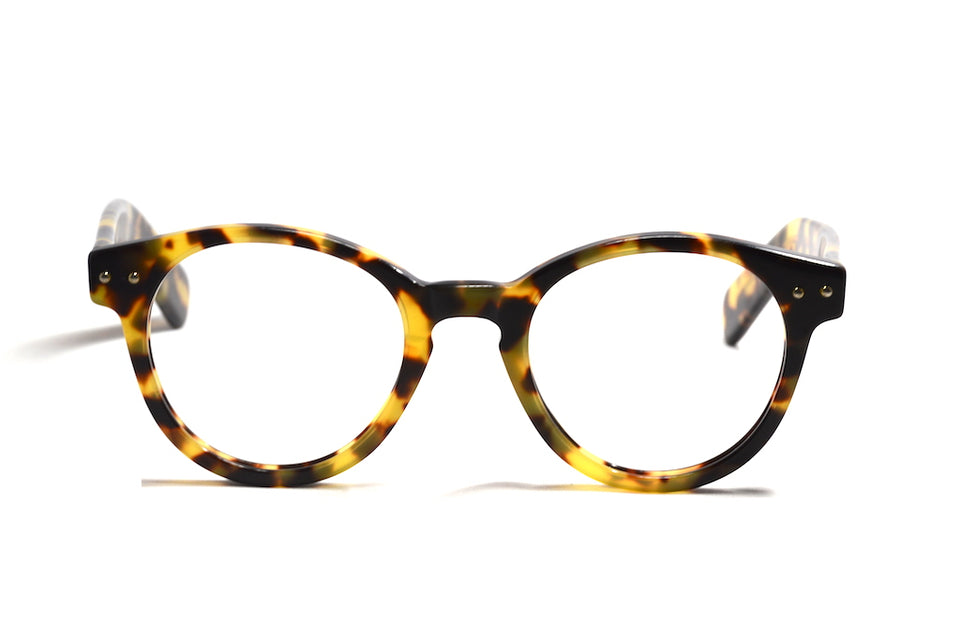 smith vintage inspired round tortoiseshell glasses
