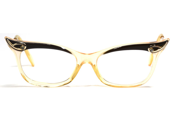 Birch by candida 1960's vintage cat eye glasses made in england