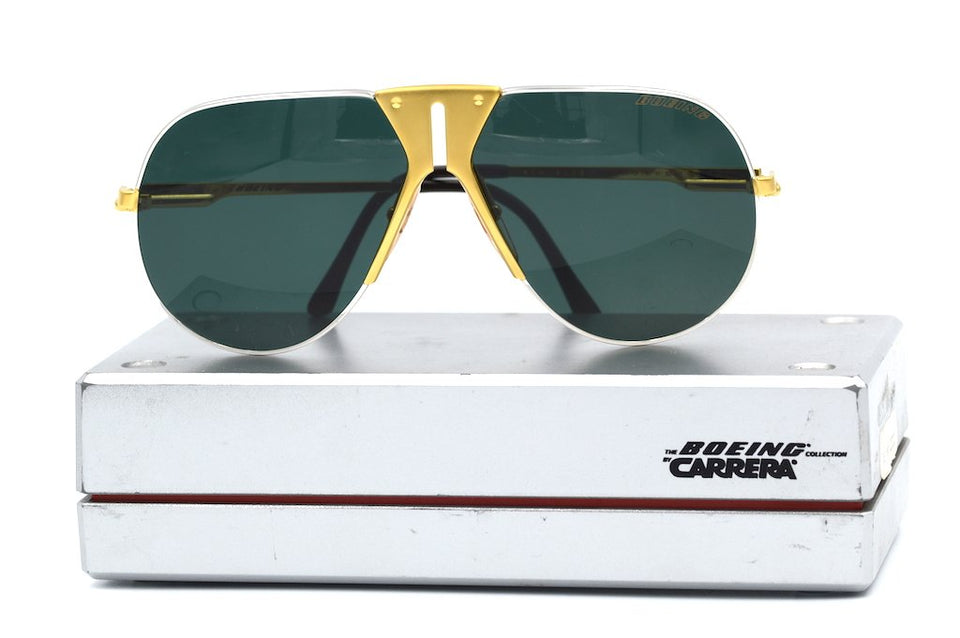 Boeing by Carrera 5701 41 vintage sunglasses, Rare vintage sunglasses, Boeing vintage sunglasses