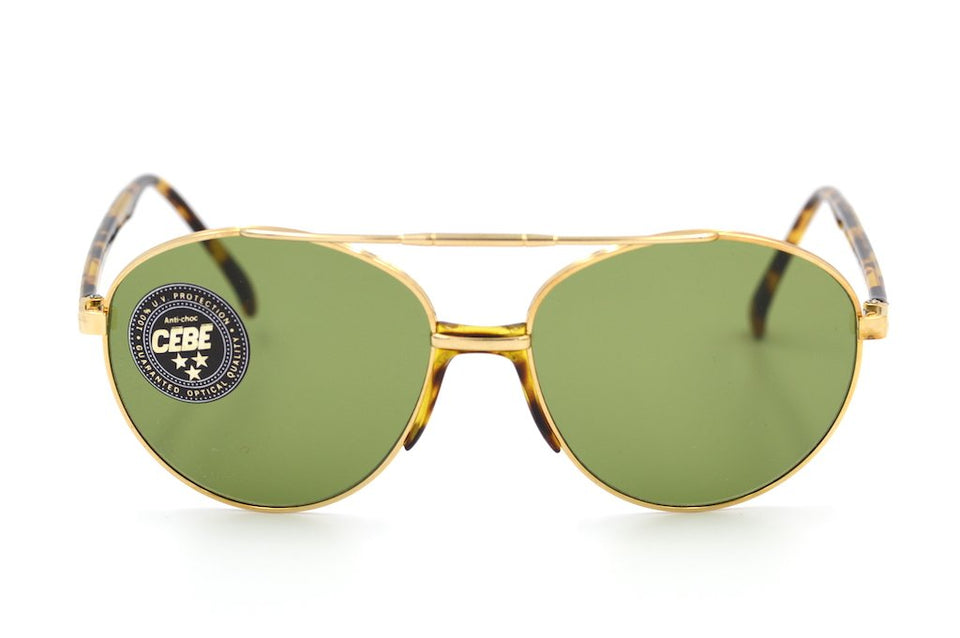 Cebe 563 Sunglasses, Cebe Vintage Sunglasses, Mens Vintage Sunglasses, Aviator Sunglasses, Retro Sunglasses