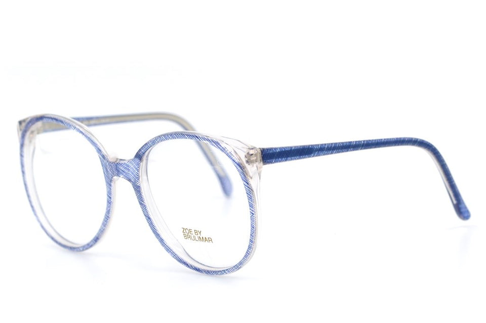Zoe by Brulimar Vintage Glasses, Oversized Glasses, Oversized Vintage Glasses, 1980's glasses,