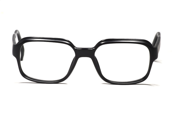 Mens vintage Viennaline glasses, vintage matte black glasses, matte black spectacles