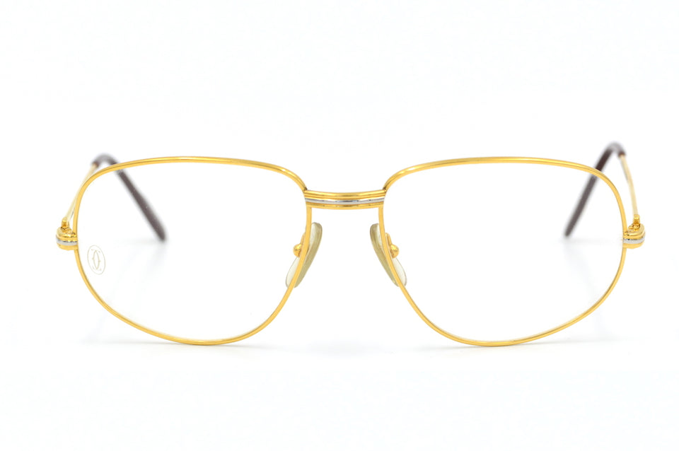 Vintage Cartier Sunglasses. Cartier Romance Louis Sunglasses. Luxury Vintage Sunglasses. Designer Vintage Sunglasses. Cartier Sunglasses. Gold Plated Sunglasses.