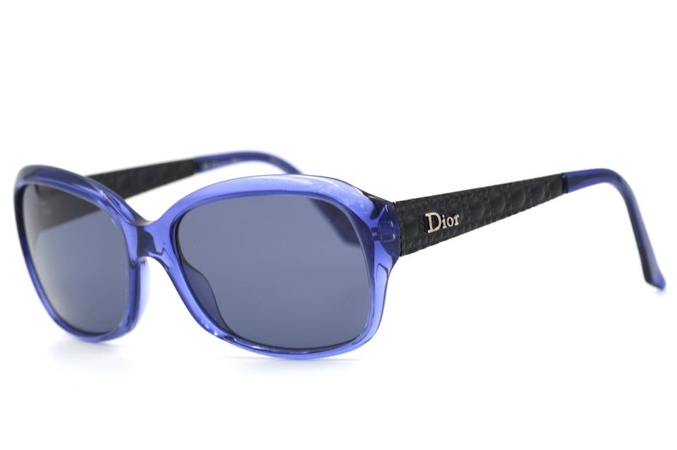Dior Coquette 2 Sunglasses. Dior Sunglasses. Cheap Dior Sunglasses. Sustainable Sunglasses. Blue Dior Sunglasses. Up-cycled sunglasses.