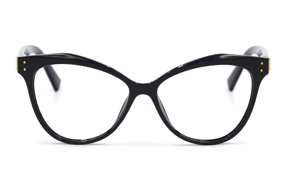 Cateye glasses, Cheap Glasses, Sustainable glasses, Black Cat Eye Glasses, Sustainable Eyewear