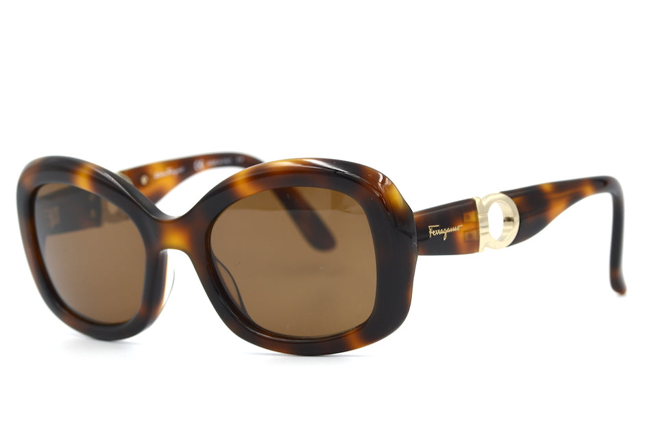 Salvatore Ferragamo 728 Sunglasses. Cheap Designer Sunglasses. Up-Cycled sunglasses. Women's Salvatore Ferragamo Sunglasses.