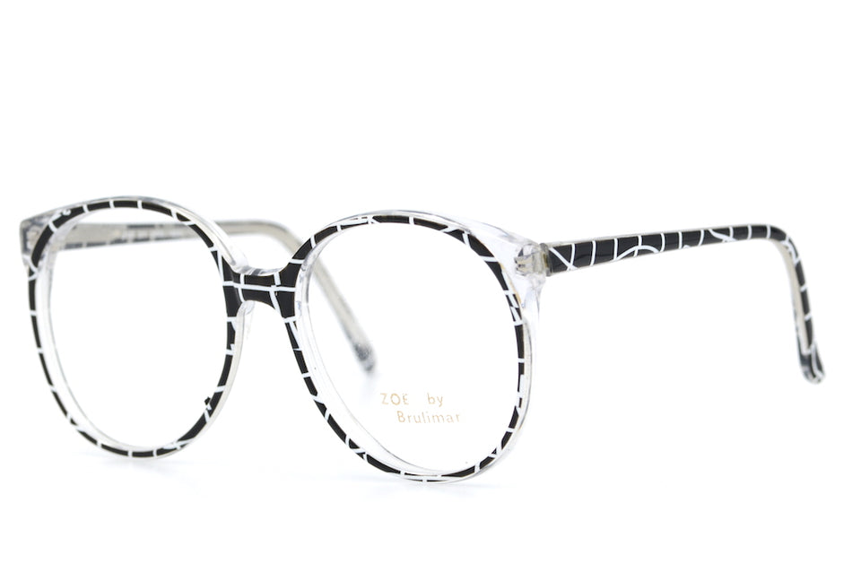 Zoe by Brulimar 2167. Oversized Glasses. Vintage Oveersized Glasses. 1980's Vintage Glasses. Sustainable Glasses.