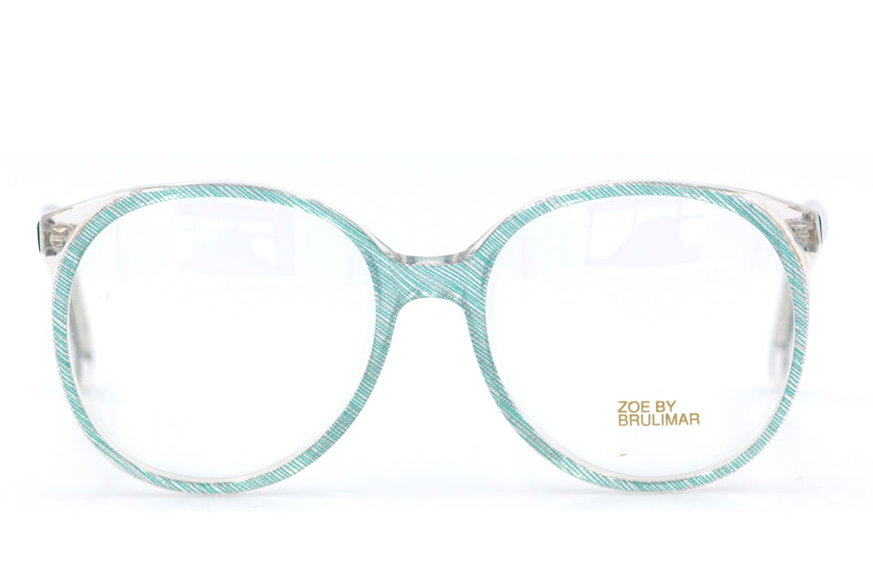 Zoe by Brulimar 2210. Oversized Glasses. Vintage Oveersized Glasses. 1980's Vintage Glasses. Sustainable Glasses.