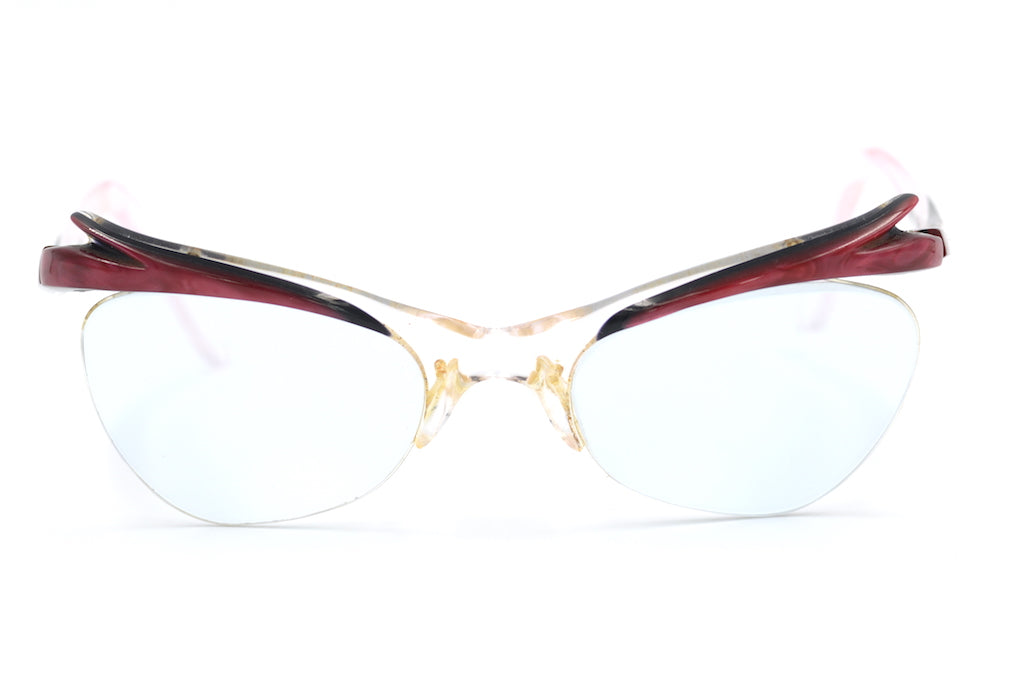 5986889319bb 1950s supra glasses, 1950s vintage glasses, retro spectacle vintage glasses,  sustainable eyewear,