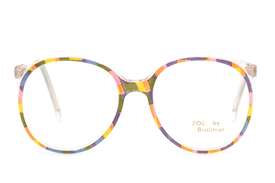 Zoe by Brulimar 2218. Oversized Glasses. Vintage Oveersized Glasses. 1980's Vintage Glasses. Sustainable Glasses.
